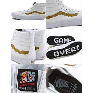 Vans + Nintendo collab high tops! VGUC! Women's 7